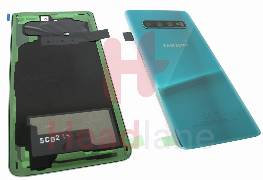 GH82-18378A - Samsung SM-G973 Galaxy S10 Back / Battery Cover - Prism Black