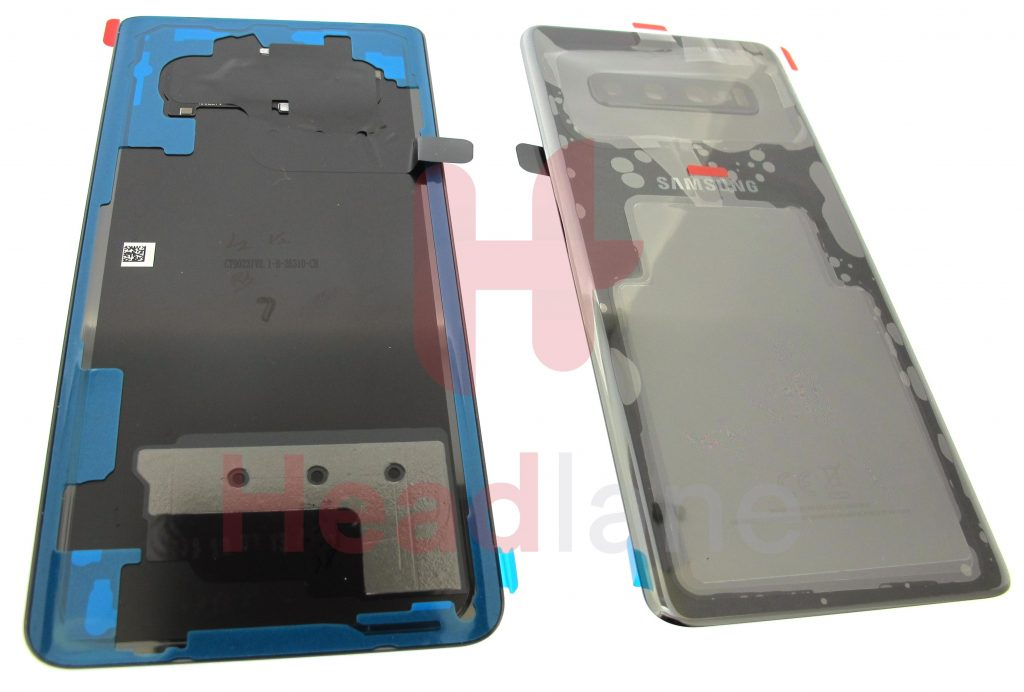 GH82-18867A - Samsung SM-G975 Galaxy S10+ / S10 Plus Back / Battery Cover - Ceramic Black