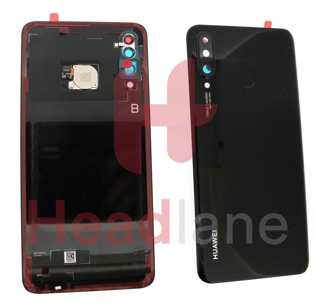 02352RPYHuawei P30 Lite Back / Battery Cover + Fingerprint Sensor - Blue