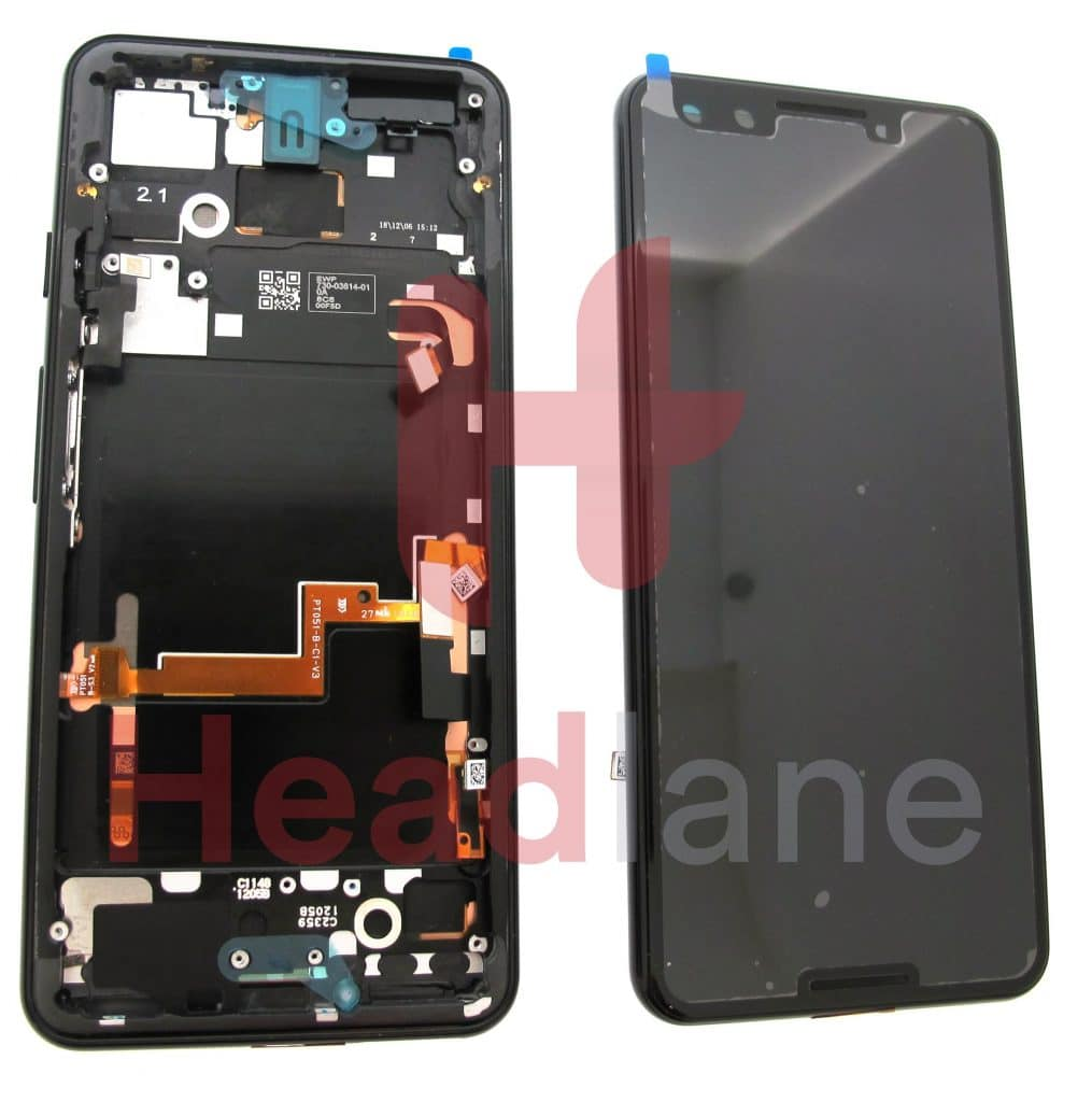 20GB1BW0S03Google Pixel 3 LCD Display / Screen + Touch - Just Black