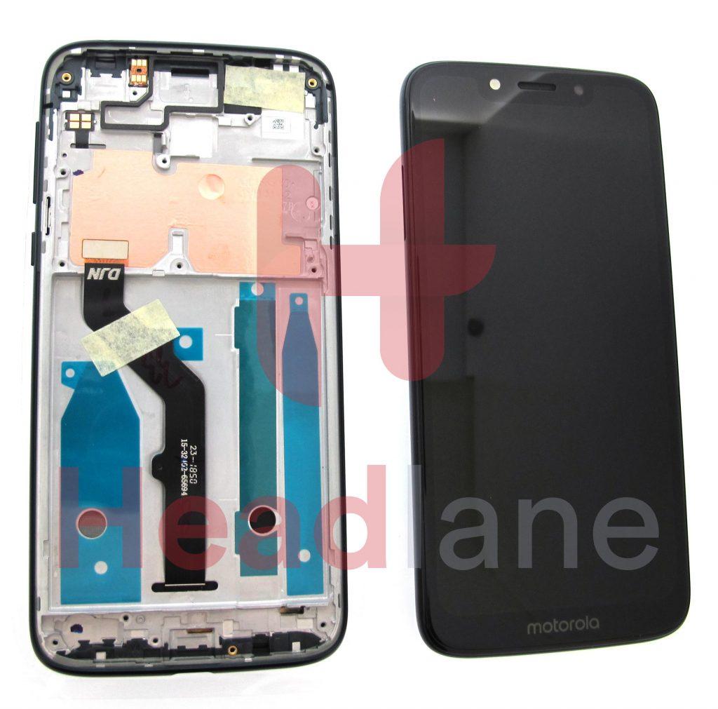 5D68C13298Lenovo / Motorola XT1952 Moto G7 Play LCD Display / Screen + Touch - Black