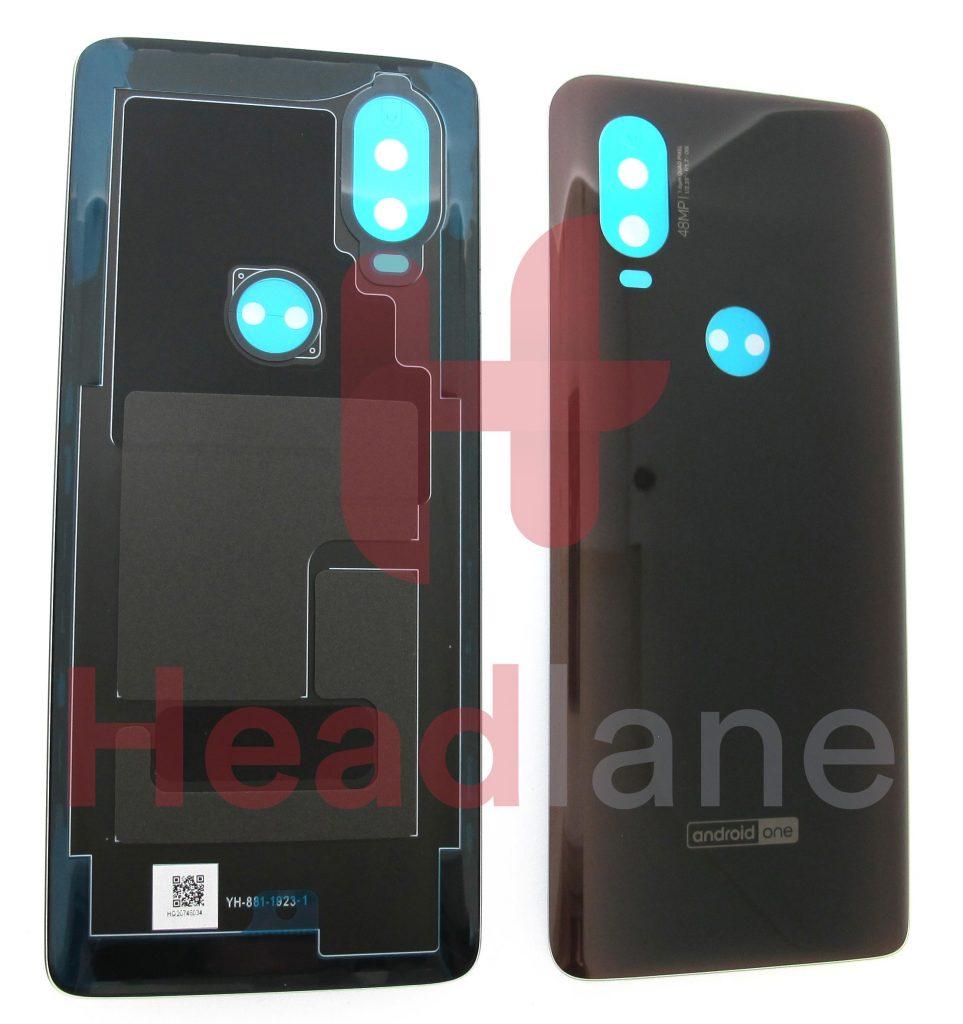 5S58C14360Lenovo / Motorola XT1970 One Vision Back / Battery Cover - Black