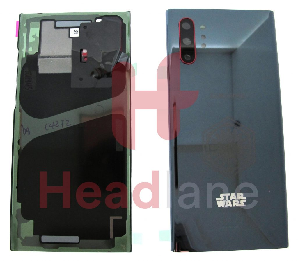 Samsung SM-N975 Galaxy Note 10+ / Note 10 Plus Back / Battery Cover - Black / Red (Star Wars)