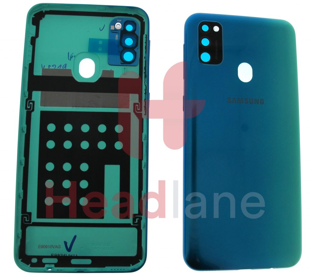 GH98-44841BSamsung SM-M307 Galaxy M30s Back / Battery Cover - Blue